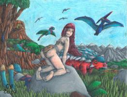 Jungle Yoko: Queen of Prehistora 12 by GeneralHelghast