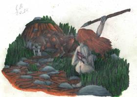 TODS: Smilodon Hunt by GeneralHelghast