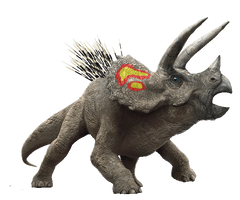 Jurassic park Triceratops Revisited by GeneralHelghast