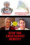 Anti-creationist Propaganda Poster Aristotle