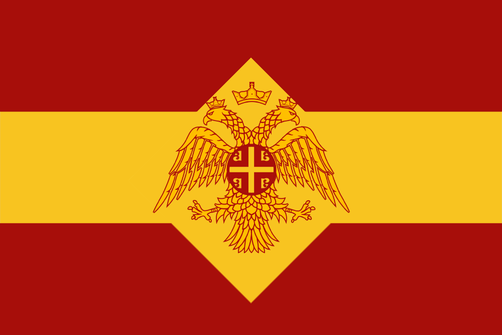 Modernized Byzantine Flag by GeneralHelghast