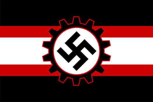 Alternate Flag of Nazi Germany by GeneralHelghast