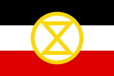 Extinction Rebellion Imperial German Flag by GeneralHelghast