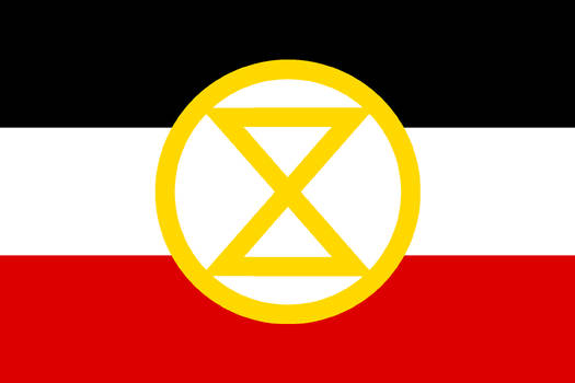 Extinction Rebellion Imperial German Flag