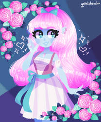 sparkling heart by Merberry
