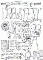 Drewsfest 2011 Advertisement by cloudmuffin727