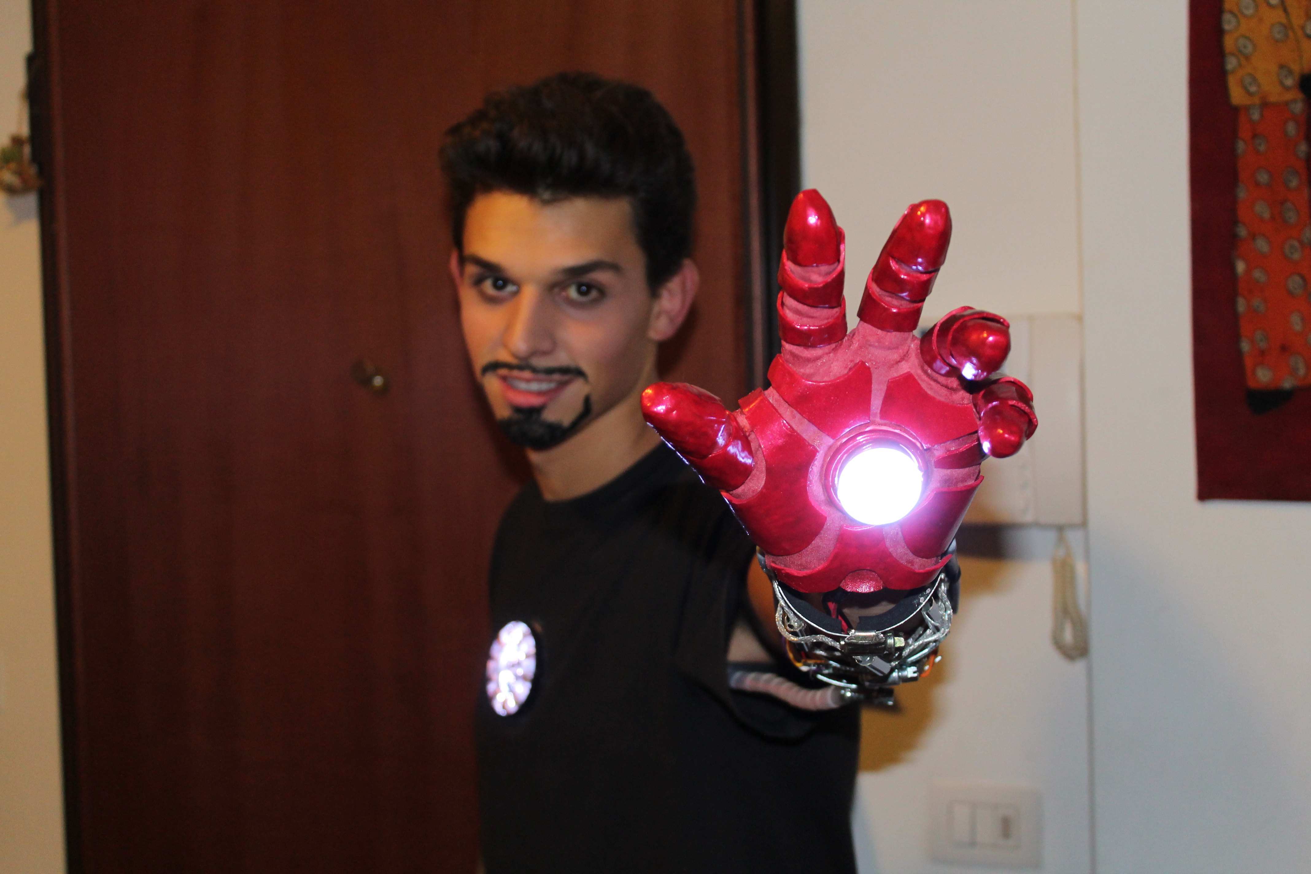 Tony Stark Halloween Costume.Iron Man Glove Halloween Costume By Tonystarkitaly On Deviantart