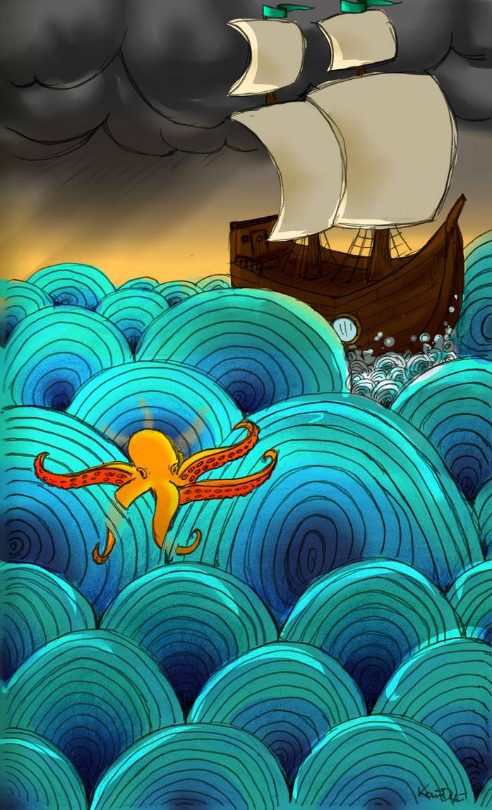 Lost At Sea by Mallphilin