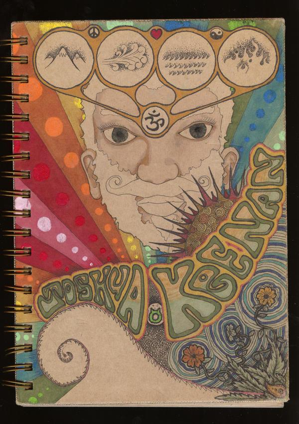 Creative Sketchbook Covers : Sketchbook front cover by j huak nan on deviantart