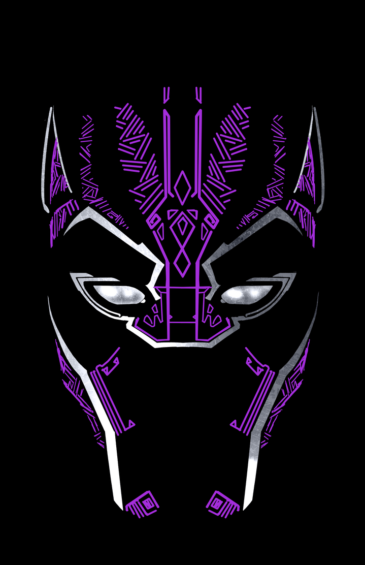 Black Panther Minimalist by our-artisan on DeviantArt