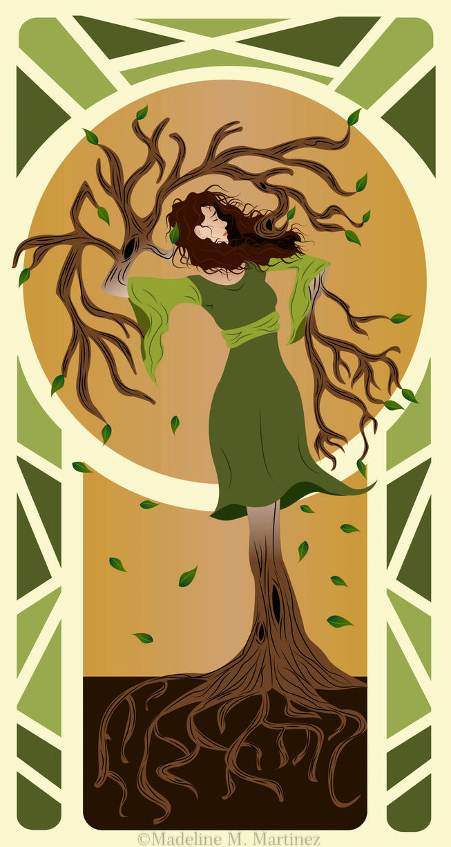 From Woman to Tree by LaTortuguitaAzul