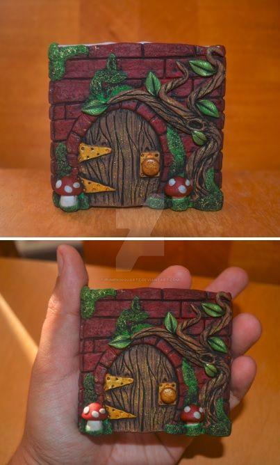 Fairy Door by PumpkinQuartz