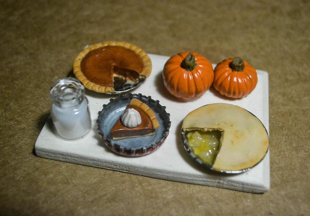 Pies for Snack by PumpkinQuartz