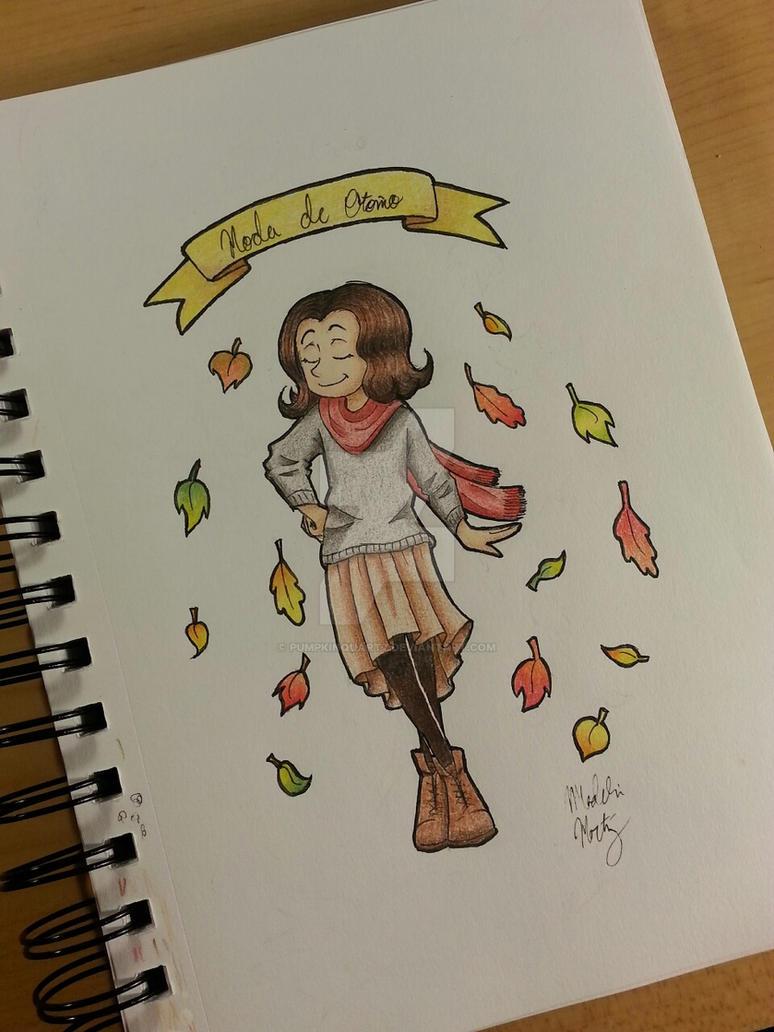 Fall's in the corner by PumpkinQuartz