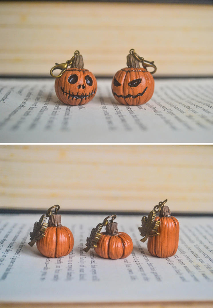 Pumpkins and jack o lanterns by PumpkinQuartz