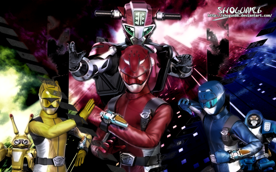 Tokumei Sentai GoBusters Wallpaper by ShoguN86