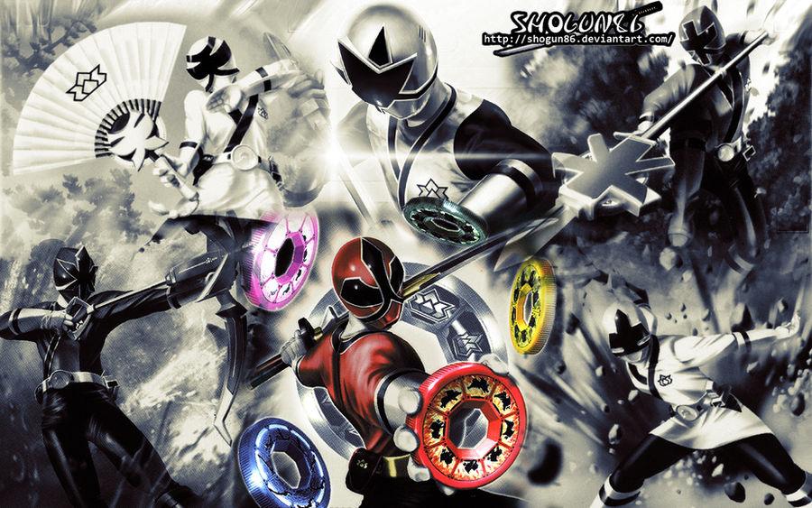 Samurai Sentai Shinkenger Wallpaper by ShoguN86