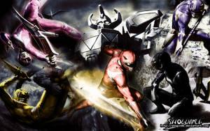 Kyoryu Sentai ZyuRanger Wallpaper by ShoguN86