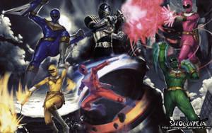 Chouriki Sentai Ohranger Wallpaper