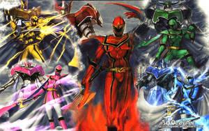 Mahou Sentai Magiranger Wallpapper by ShoguN86