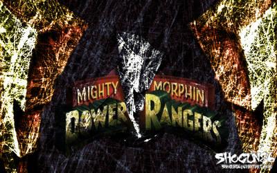 MMPR Logo Wallpaper by ShoguN86