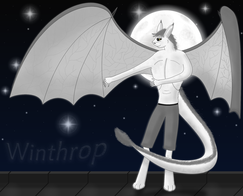 Winthrop The Winged Chimera by Foxie-The-Vulpix