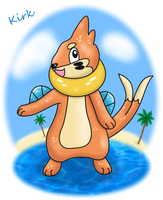 Kirk The Buizel by Foxie-The-Vulpix