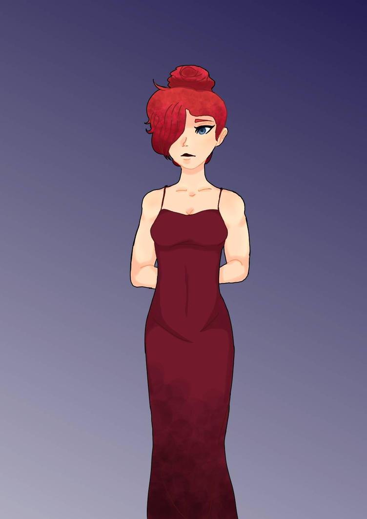 Madam Red ? by bunnymything
