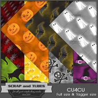 Halloween Papers 3 (FS/TS/CU4CU) by ZaZaScrapAndTubes