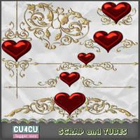 Valentine Charms Preview by ZaZaScrapAndTubes
