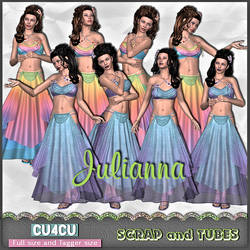 Julianna by Scrap and Tubes Designs by ZaZaScrapAndTubes