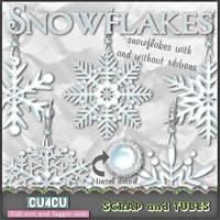 Tinsel Snowflakes