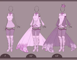 11 | Outfit Design Adopt - [OPEN] by Llamarsio
