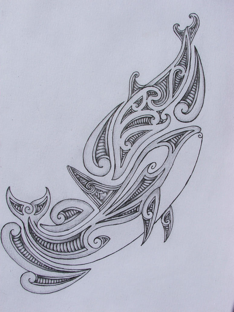 Tribal Orca/dolphin Tattoo Design By Savagewerx On DeviantArt
