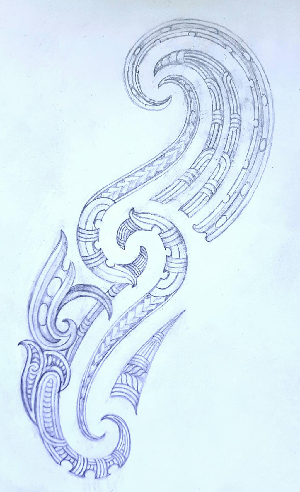 maori tattoo design by savagewerx