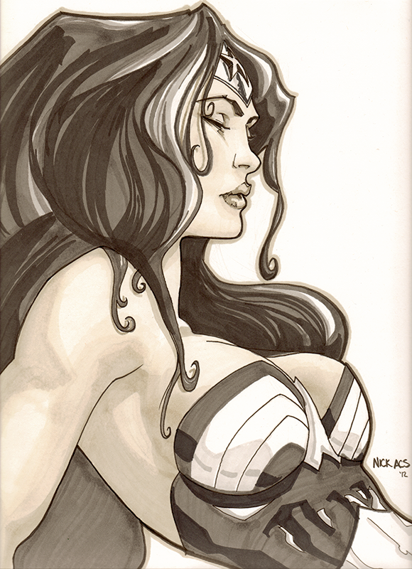Wonder Woman - Nick Acs by nick-axe