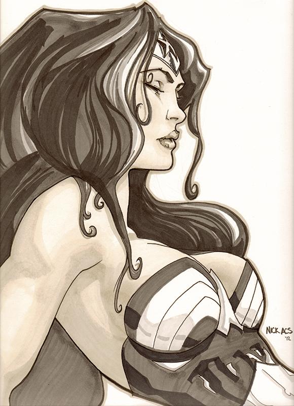 Wonder Woman - Nick Acs by nick-axe