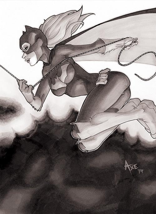 Batgirl by nick-axe