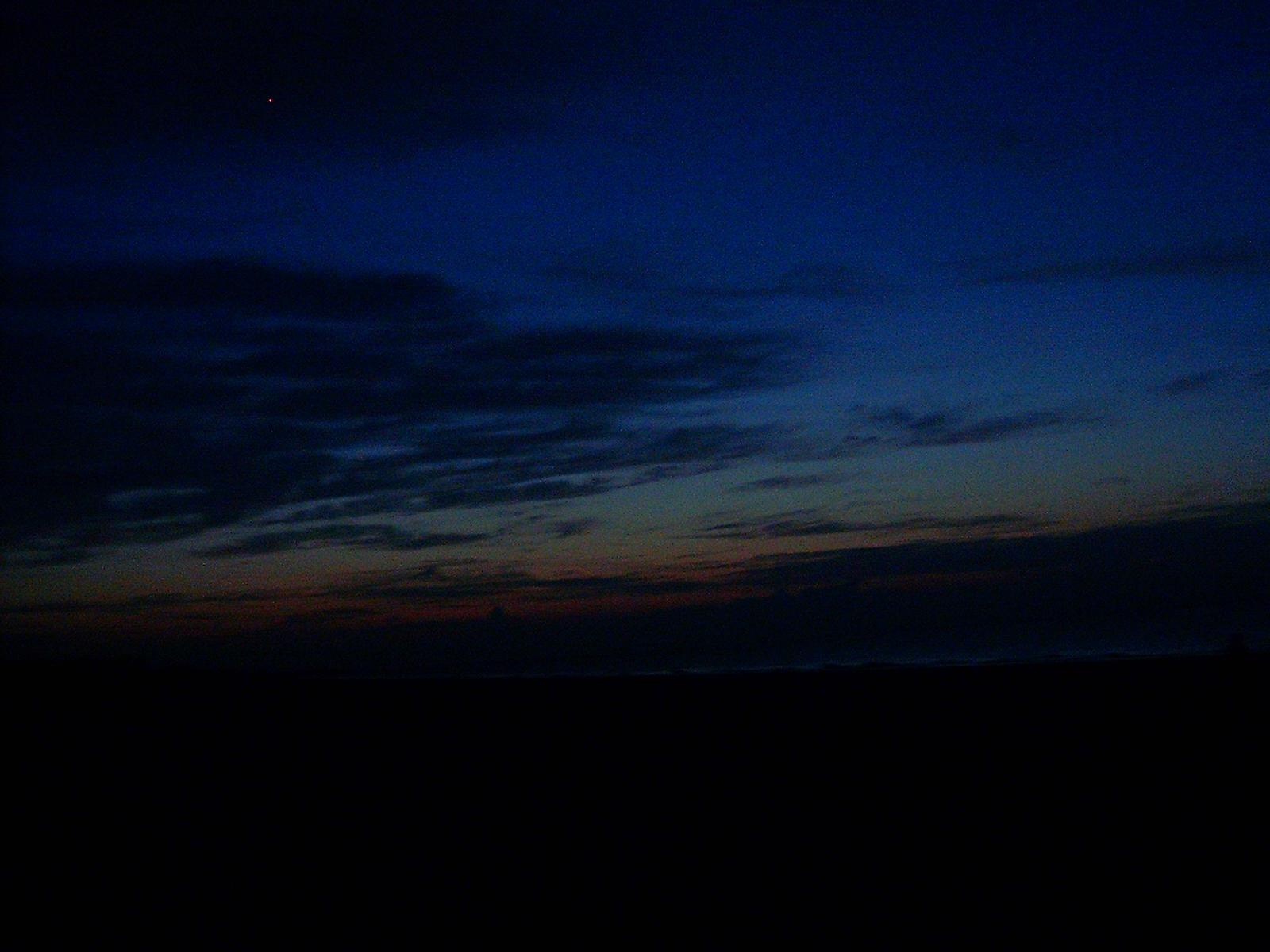 Black Night Sky Night ...