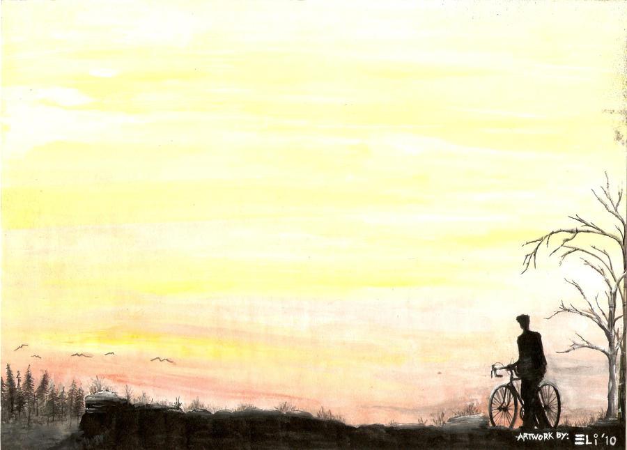 Alone by nickart14