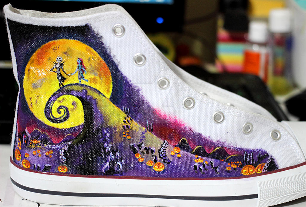 1c409a5562b4 Nightmare Before Christmas shoes - NEW!! 03 by Demonescuro on DeviantArt
