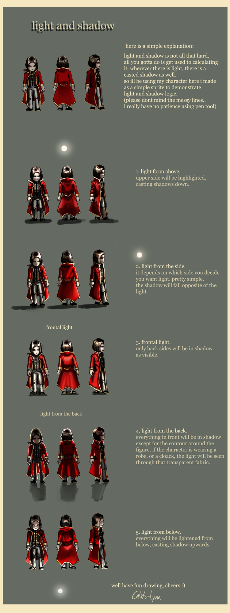 light and shadow guide