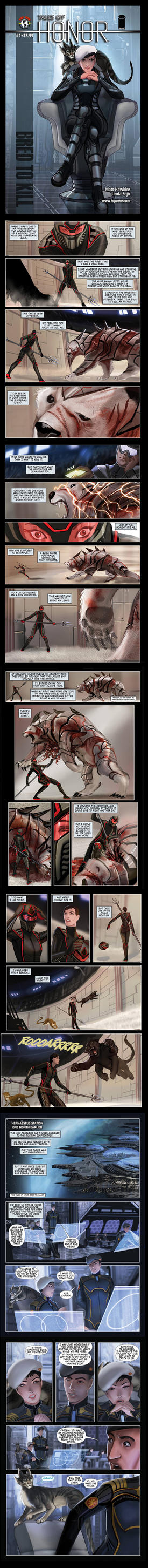 Tales of Honor 2 #1 preview pages by calisto-lynn