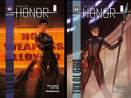 tales of honor vol 2 issue 2 covers by calisto-lynn