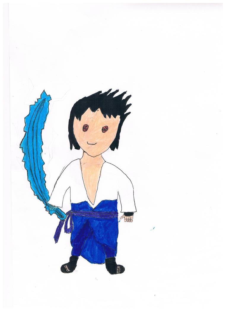 Sasuke Lv 3 Sharingan Chidori Sword 001 by ...
