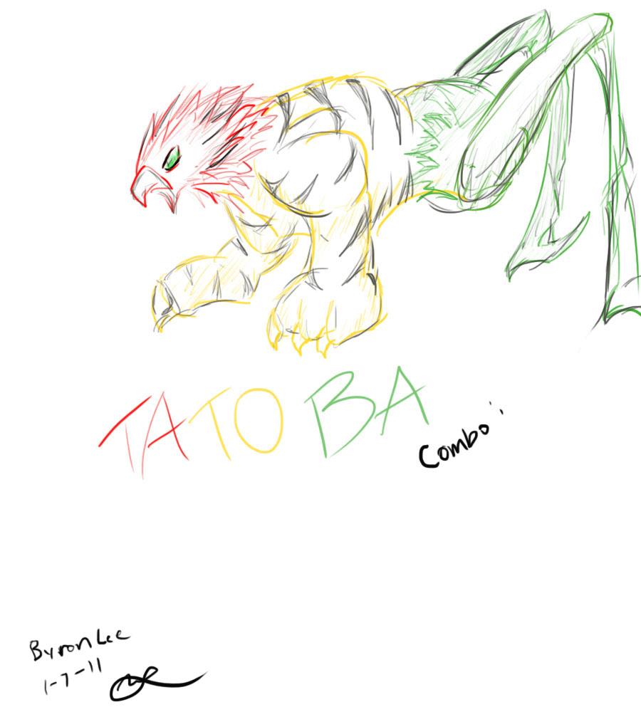 Kamen Rider OOO TaToBa :BEAST: by Gryphomon