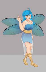 Water Fairy Coord 2.0 by LightingPhoenix