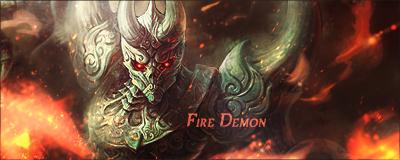 Fire Demon by LumiLumii by LumiLumii
