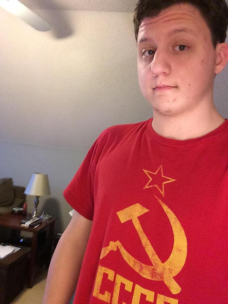 Awkward selfie