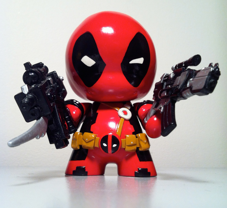 Deadpool by n3gative-0